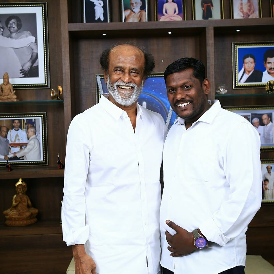 Rajinikanth Interview Photo Shooting